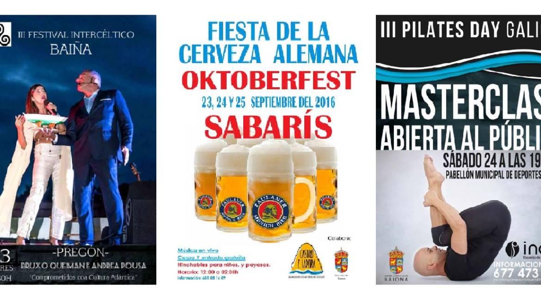 Cerveza, música, pilates y mucho más